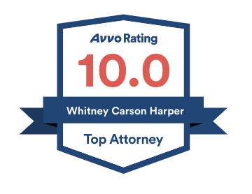Avvo Rating 10.0 Top Attorney - Whitney Harper