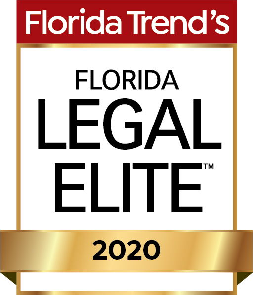 Florida Trend's - Florida Legal Elite 2020 Badge